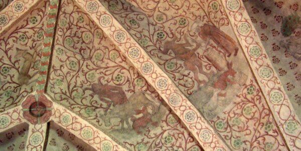 Kalkmålningar i Ösmo kyrka