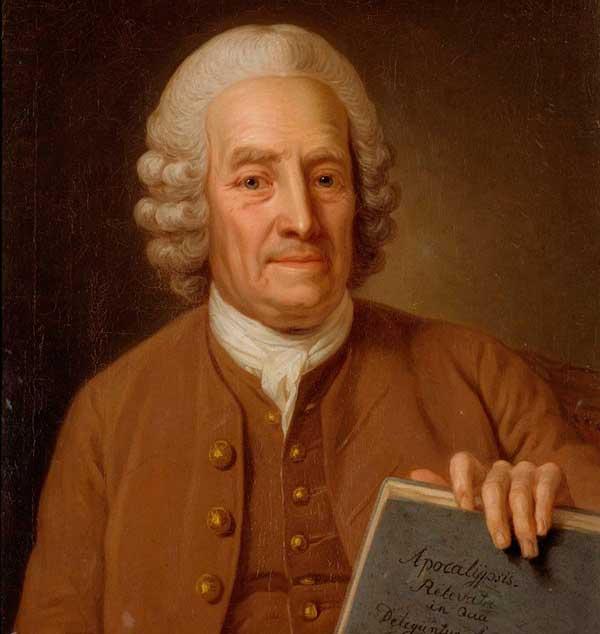 Målning föreställande Emanuel Swedenborg