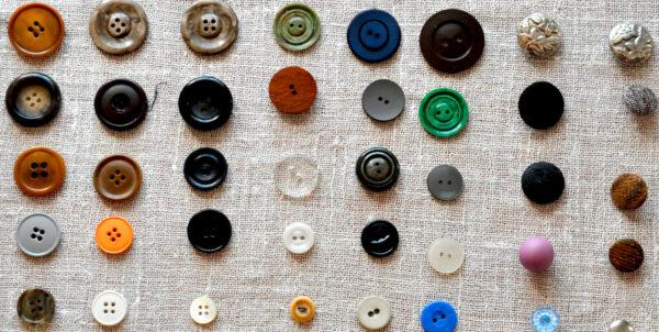 Sorterade knappar