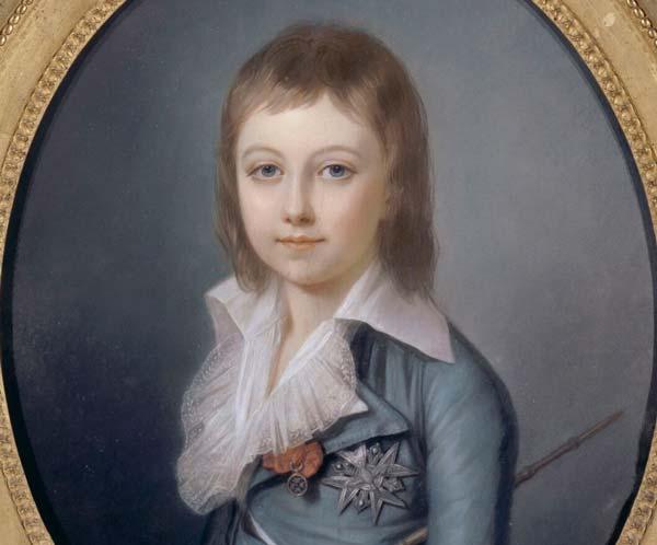 Porträtt av Louis Charles