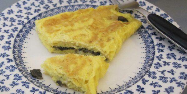 Fotografi på omelett