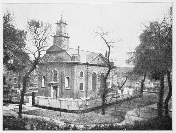 Fotografi föreställande Svenska kyrkan i London