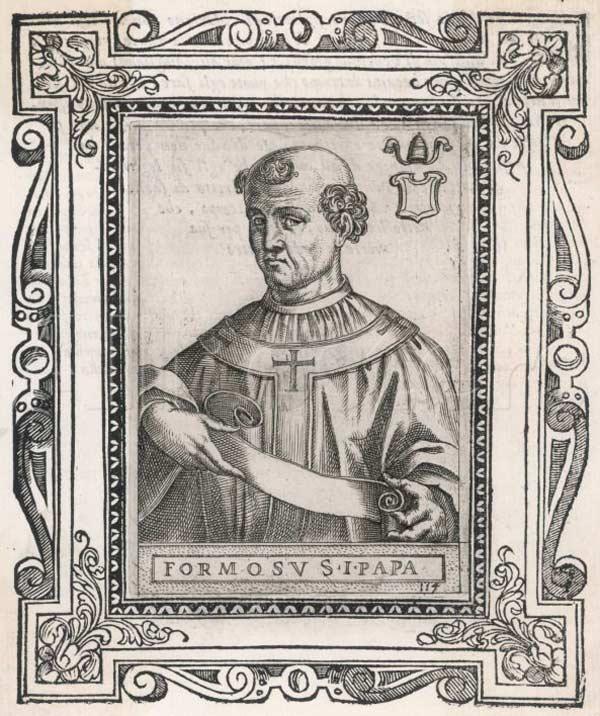 Porträtt föreställande Formosus