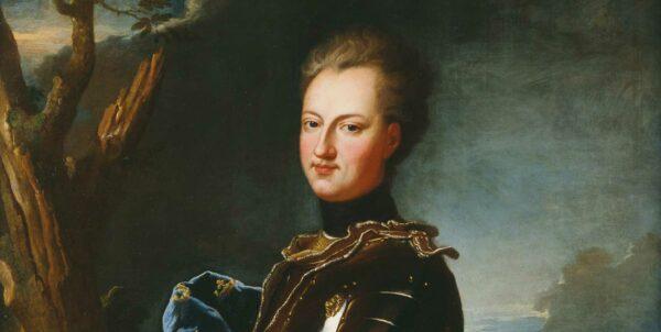 Porträtt föreställande Karl XII