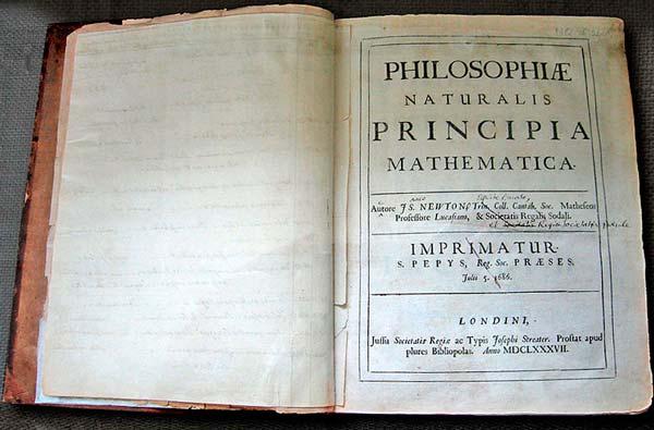 Principia uppslagen på första uppslaget