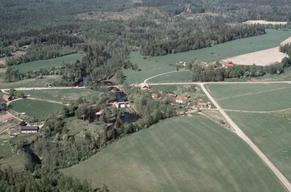 Flygfotografi över Järle