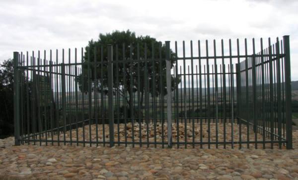 Graven där Sara Baartman är begravd