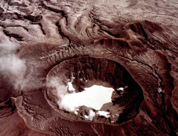 Vulkanen El Chichón